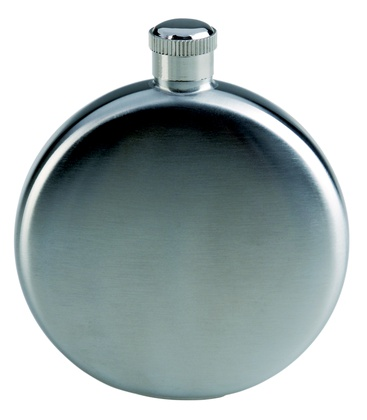 Карманная фляга AceCamp S/S Flask Round shape 5OZ
