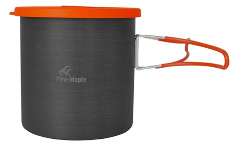 Литровый котелок Fire-Maple FWS-XK6 с мягкой крышкой