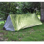 Палатка термосберегающая, туба. AceCamp Reflective Tube Tent - Green