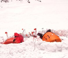 Экспедиционная палатка с повышенной ветроустойчивостью. Alexika Mirage 4 Фотография 6