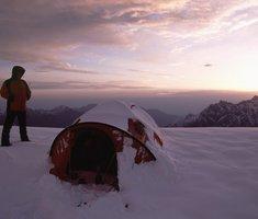 Экспедиционная палатка с повышенной ветроустойчивостью. Alexika Mirage 4 Фотография 8