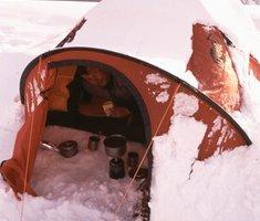 Экспедиционная палатка с повышенной ветроустойчивостью. Alexika Mirage 4 Фотография 9
