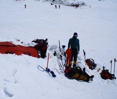 Экспедиционная палатка с повышенной ветроустойчивостью. Alexika Mirage 4 Фотография 1