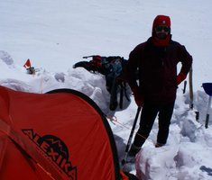Экспедиционная палатка с повышенной ветроустойчивостью. Alexika Mirage 4 Фотография 2